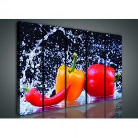 Obraz na plátne viacdielny - OB3366 - Zelenina