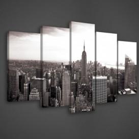 Obraz na plátne viacdielny - OB3391 - Čierno biely New York