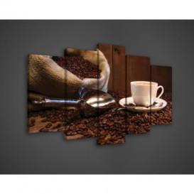Obraz na plátne viacdielny - OB3395 - Káva