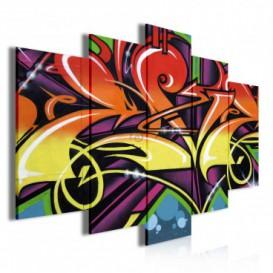 Obraz na plátne viacdielny - OB3418 - Grafit