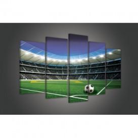 Obraz na plátne viacdielny - OB3443 - Futbalový štadión