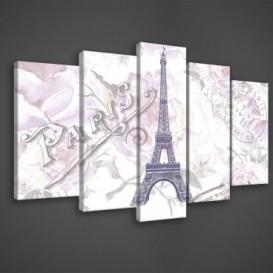 Obraz na plátne viacdielny - OB3463 - Paríž