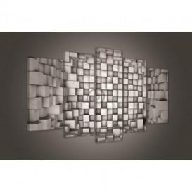 Obraz na plátne viacdielny - OB3470 - 3D kocky