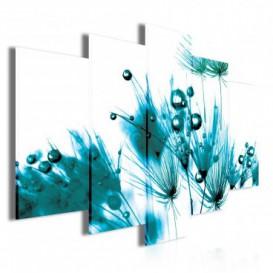 Obraz na plátne viacdielny - OB3500 - Tyrkysová tráva