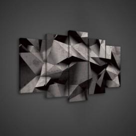 Obraz na plátne viacdielny - OB3515 - 3D abstrakt