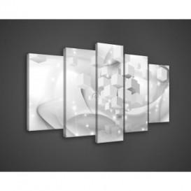 Obraz na plátne viacdielny - OB3532 - 3D kocky