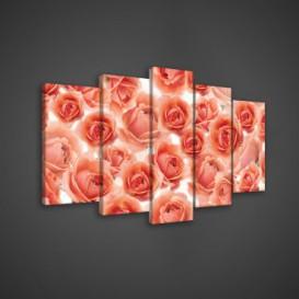 Obraz na plátne viacdielny - OB3545 - Ruže