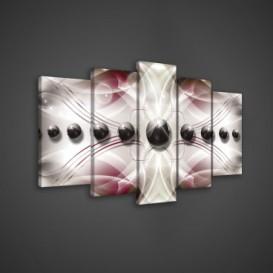 Obraz na plátne viacdielny - OB3547 - 3D gule
