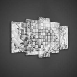 Obraz na plátne viacdielny - OB3563 - 3D kocky