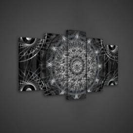 Obraz na plátne viacdielny - OB3565 - Mandala