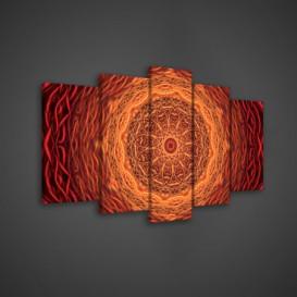 Obraz na plátne viacdielny - OB3566 - Mandala