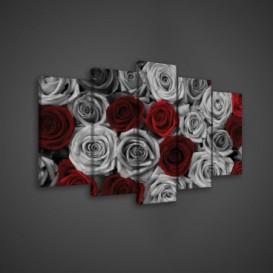 Obraz na plátne viacdielny - OB3569 - Ruže