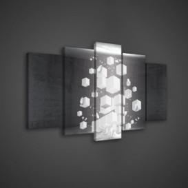 Obraz na plátne viacdielny - OB3577 - 3D kocky