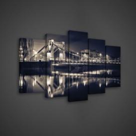 Obraz na plátne viacdielny - OB3582 - Most