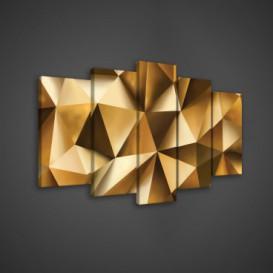 Obraz na plátne viacdielny - OB3588 - 3D tvary