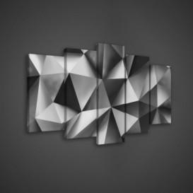 Obraz na plátne viacdielny - OB3589 - 3D tvary