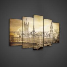 Obraz na plátne viacdielny - OB3622 - Londýn