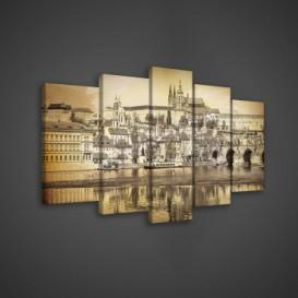 Obraz na plátne viacdielny - OB3624 - Praha