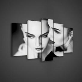 Obraz na plátne viacdielny - OB3640 - Modelky