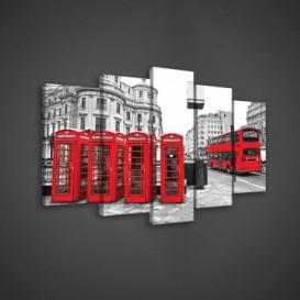 Obraz na plátne viacdielny - OB3645 - Londýn
