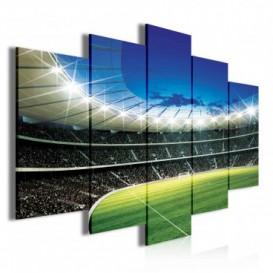Obraz na plátne viacdielny - OB3654 - Futbalový štadión