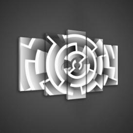 Obraz na plátne viacdielny - OB3668 - Labyrint