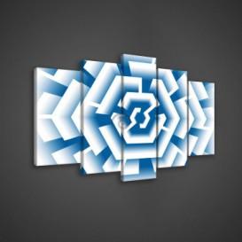 Obraz na plátne viacdielny - OB3669 - Labyrint