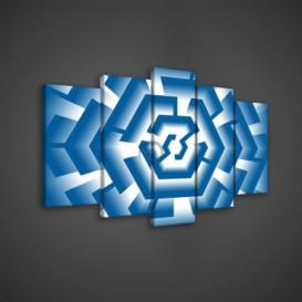 Obraz na plátne viacdielny - OB3670 - Labyrint