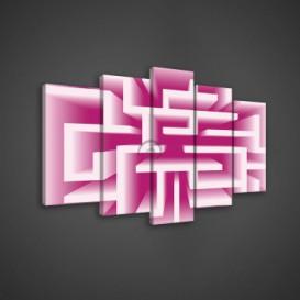 Obraz na plátne viacdielny - OB3672 - Labyrint