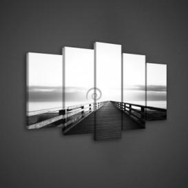 Obraz na plátne viacdielny - OB3677 - Mólo