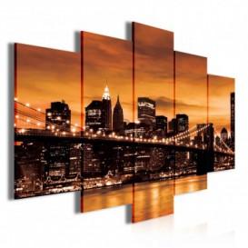 Obraz na plátne viacdielny - OB3679 - New York