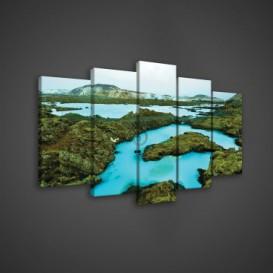Obraz na plátne viacdielny - OB3680 - Zátoka