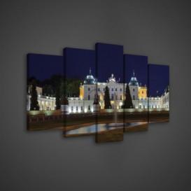 Obraz na plátne viacdielny - OB3684 - Zámok