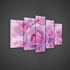 Obraz na plátne viacdielny - OB3686 - Ruže