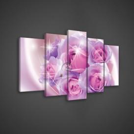 Obraz na plátne viacdielny - OB3688 - Ruže