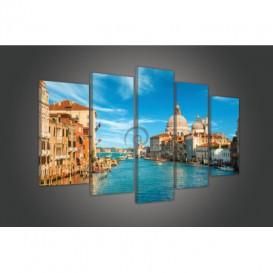 Obraz na plátne viacdielny - OB3696 - Benátky