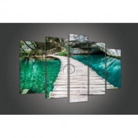 Obraz na plátne viacdielny - OB3715 - Chodník