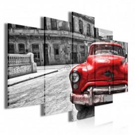 Obraz na plátně vícedílný - OB3717 - Auto