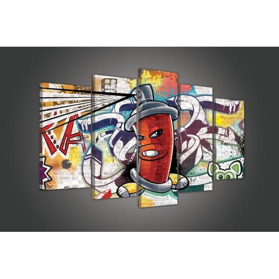 Obraz na plátne viacdielny - OB3725 - Grafit