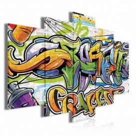 Obraz na plátně vícedílný - OB3726 - Grafity