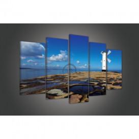 Obraz na plátne viacdielny - OB3728 - Veterný mlyn
