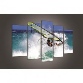 Obraz na plátne viacdielny - OB3730 - Surfér