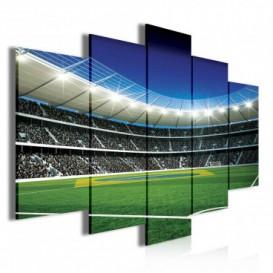 Obraz na plátne viacdielny - OB3752 - Futbalový štadión