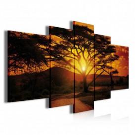 Obraz na plátne viacdielny - OB3769 - Západ slnka