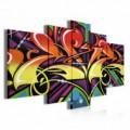 Obraz na plátne viacdielny - OB3784 - Grafit