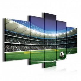 Obraz na plátne viacdielny - OB3802 - Futbalový štadión