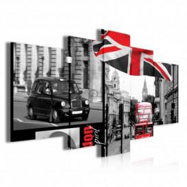 Obraz na plátně vícedílný - OB3823 - Londýn