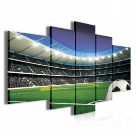 Obraz na plátne viacdielny - OB3829 - Futbalový štadión