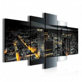 Obraz na plátne viacdielny - OB3847 - Nočné mesto