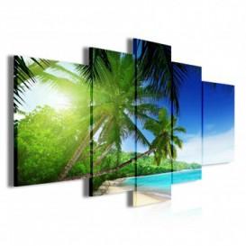 Obraz na plátne viacdielny - OB3870 - Pláž